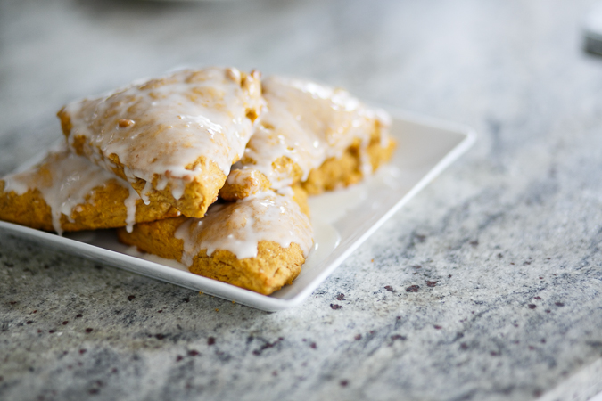 pumpkin scones