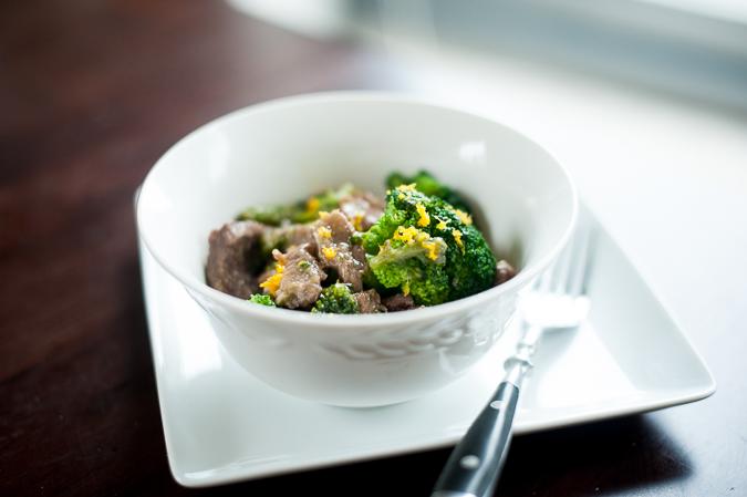 orange beef broccoli