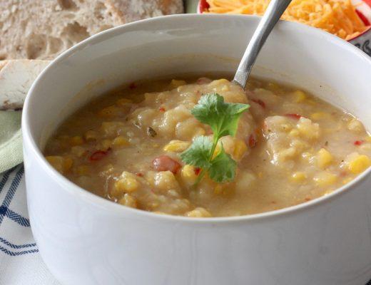 chile corn chowder