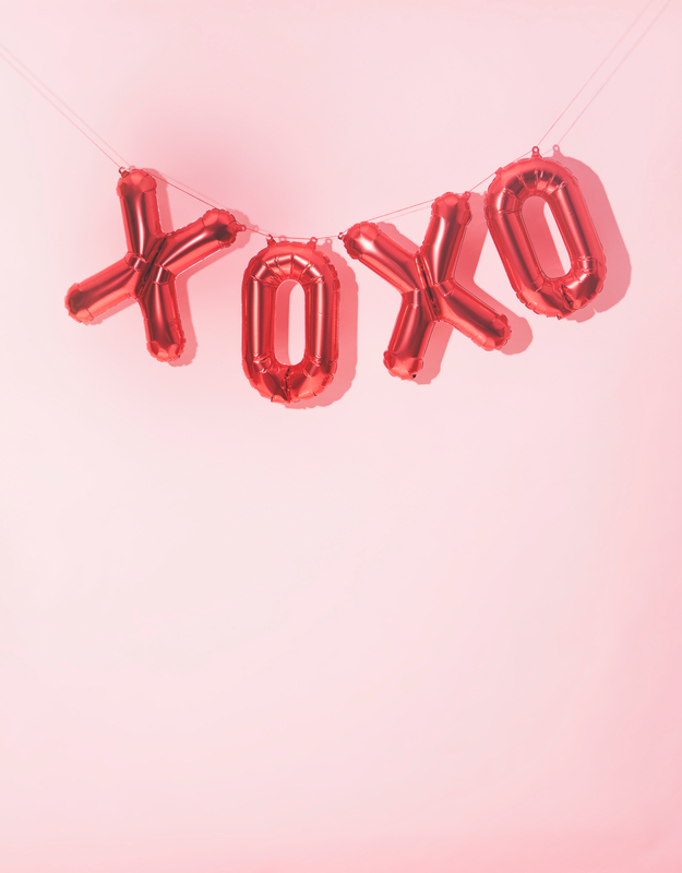 Series of images for Valentine's Day.