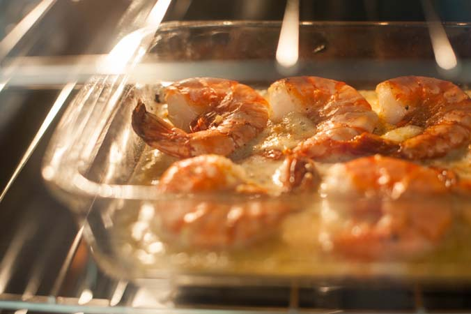 baked shrimp in lemon garlic sauce