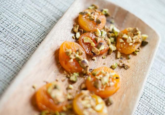 sweet savory apricots