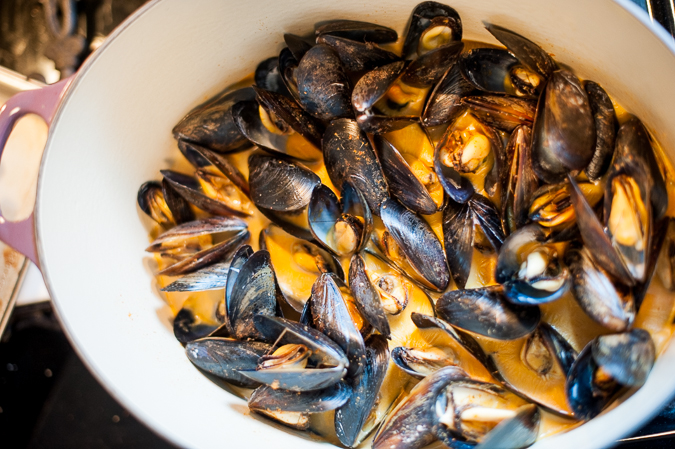 easy homemade mussels