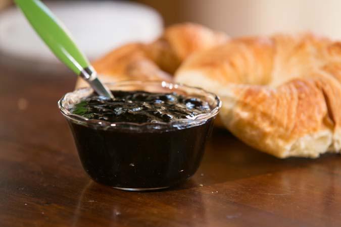 easy homemade blueberry jam