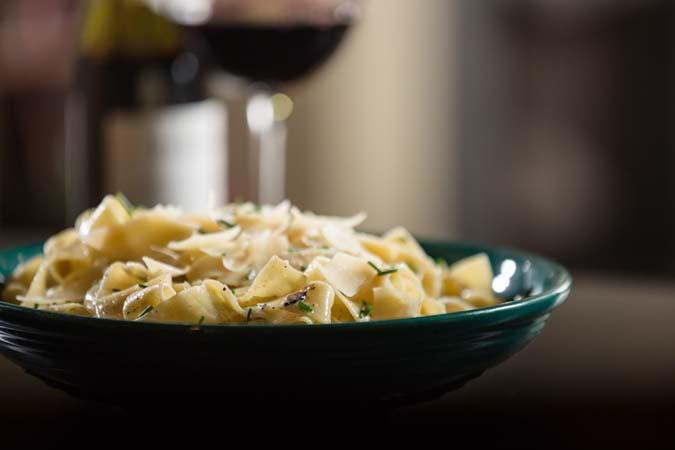 truffle butter pasta