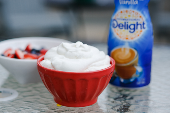 french vanilla whipped cream