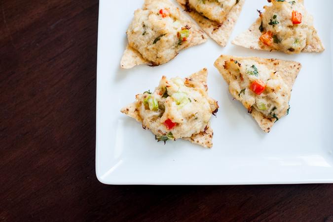 spicy crab crisps