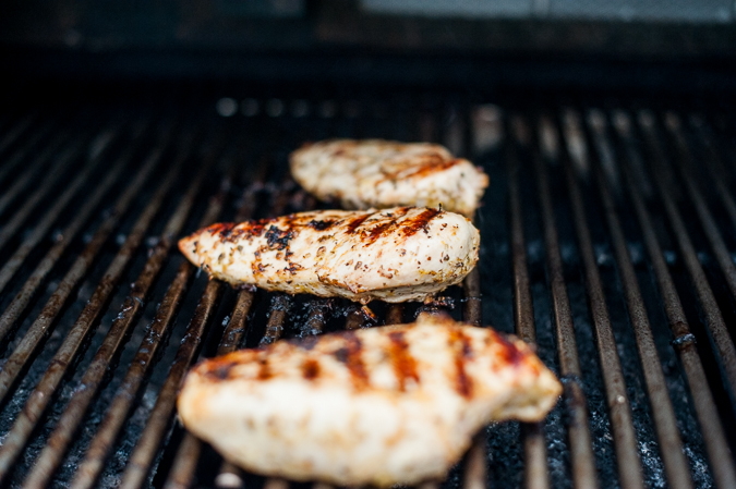 grilled chicken with lemon and garlic