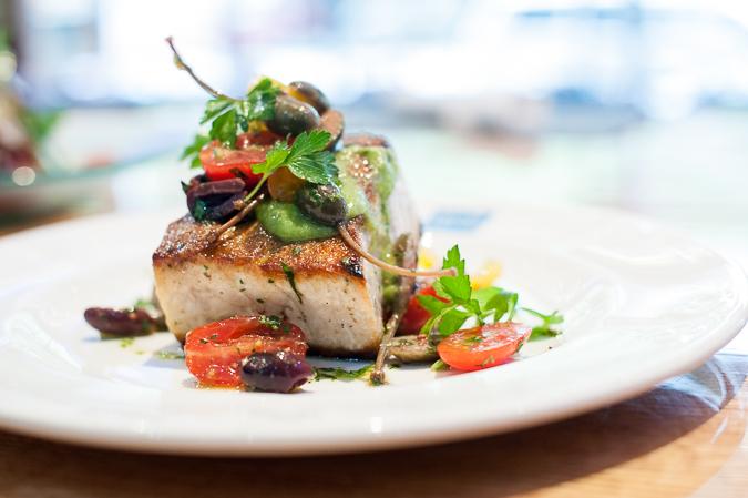 swordfish cooked
