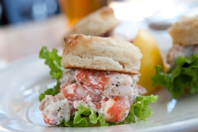 Maine Lobster Sliders