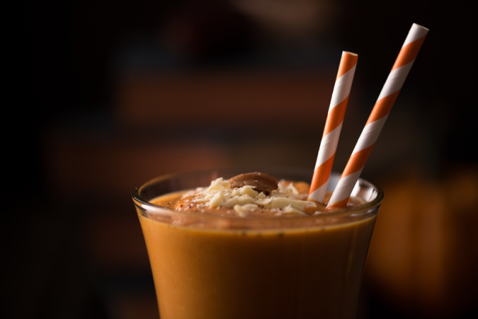 Fall Drink: Pumpkin Smoothie