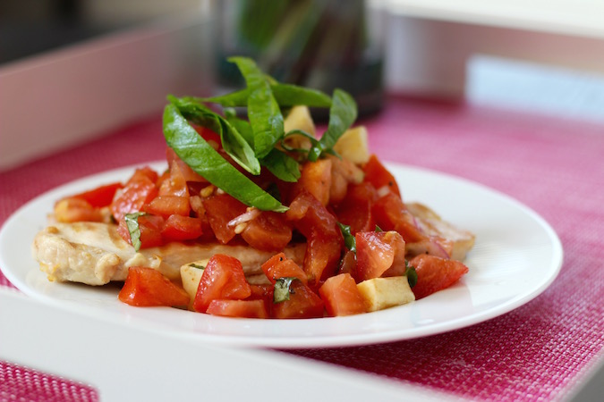 Bruschetta Grilled Chicken - In Good Taste