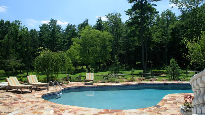 Pool at Inn at Bowman's Hill