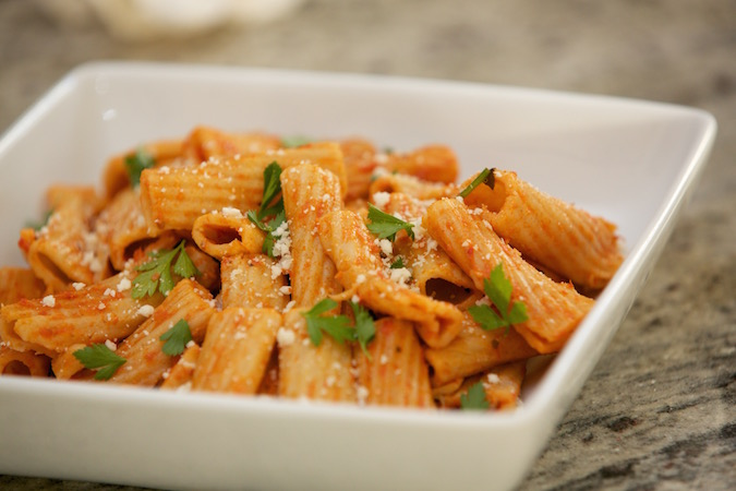 vodka-rigatoni