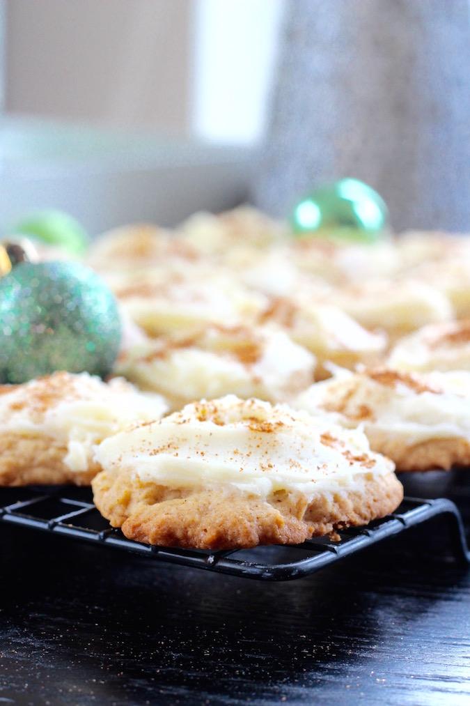 egggnog cookies
