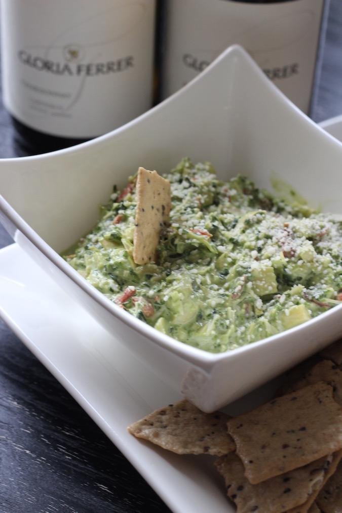 spinach kale artichoke dip