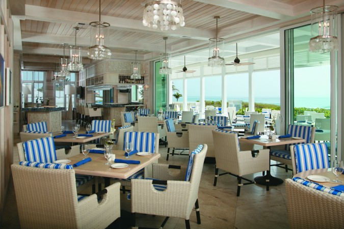 Seagate Beach Club - Lower Level Terrace
