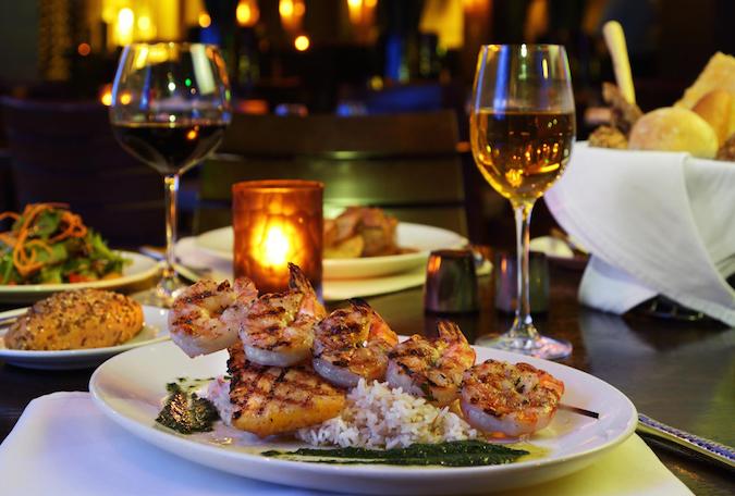 Seagate Hotel Spa Shrimp