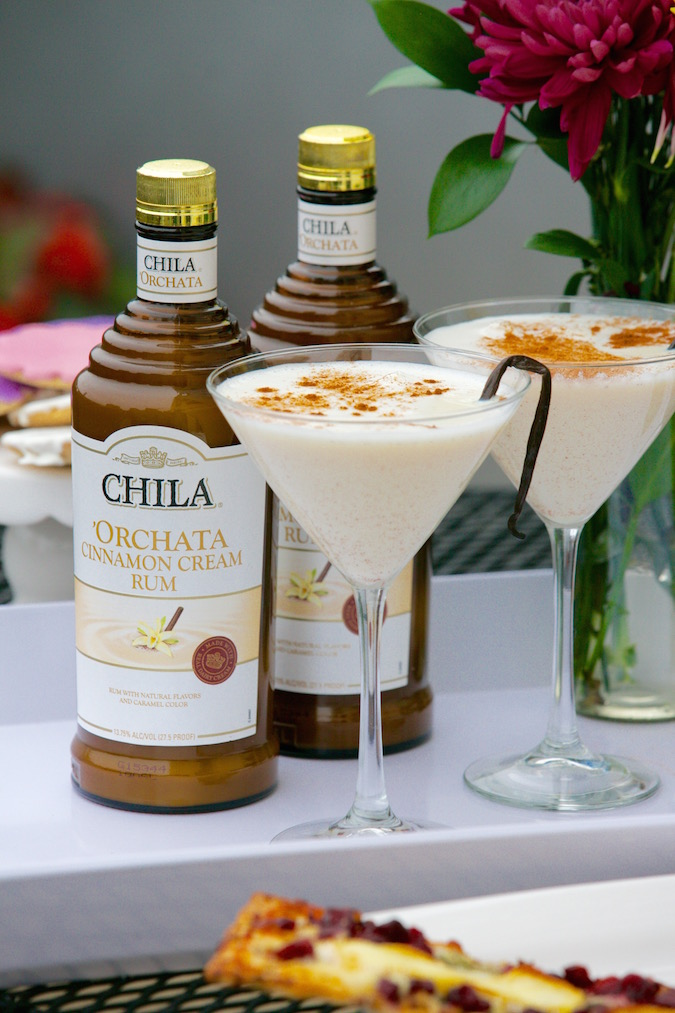 chila orchata cocktail