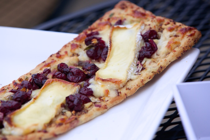 brie cranberry flatbread