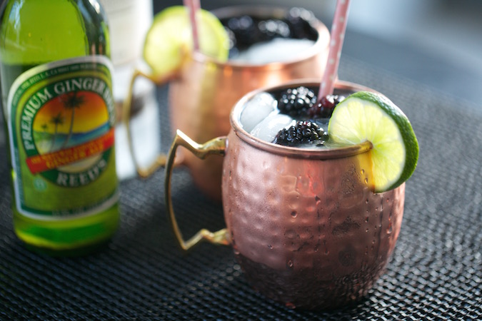 blackberry ginger moscow mule