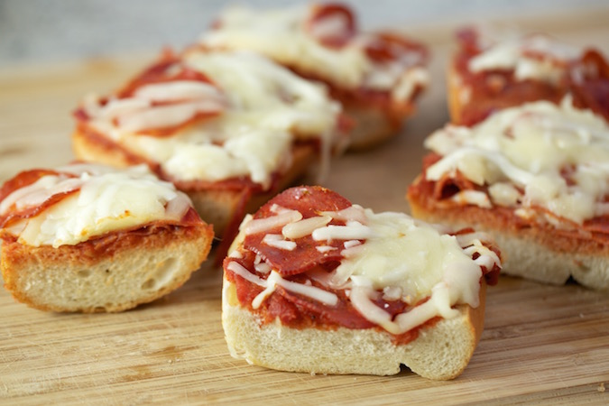 french bread pizza pepperoni 2