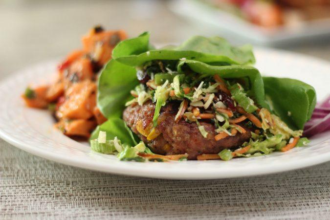 garden vegetable turkey burger 2