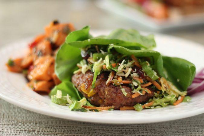 garden vegetable turkey burger 3