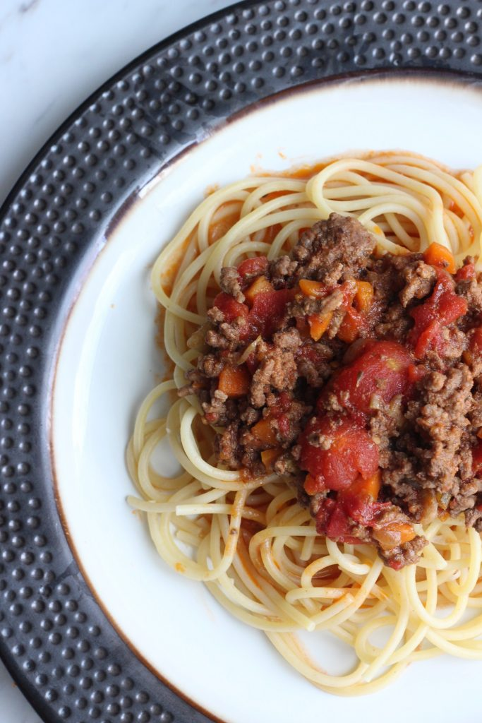 slow cooker bolognese