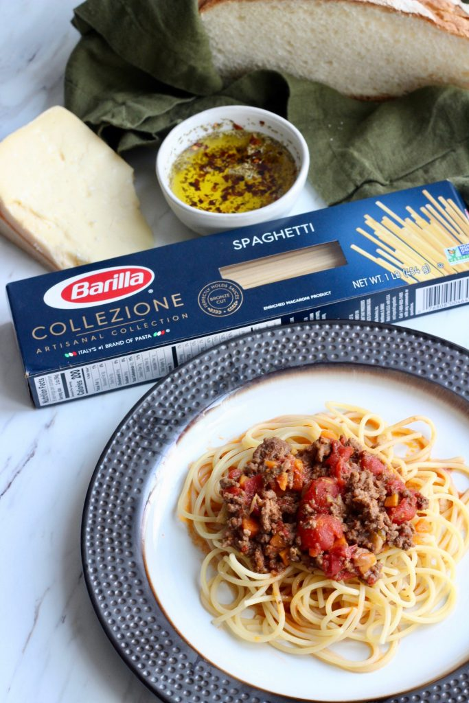 slow cooker bolognese with barill acolezzione