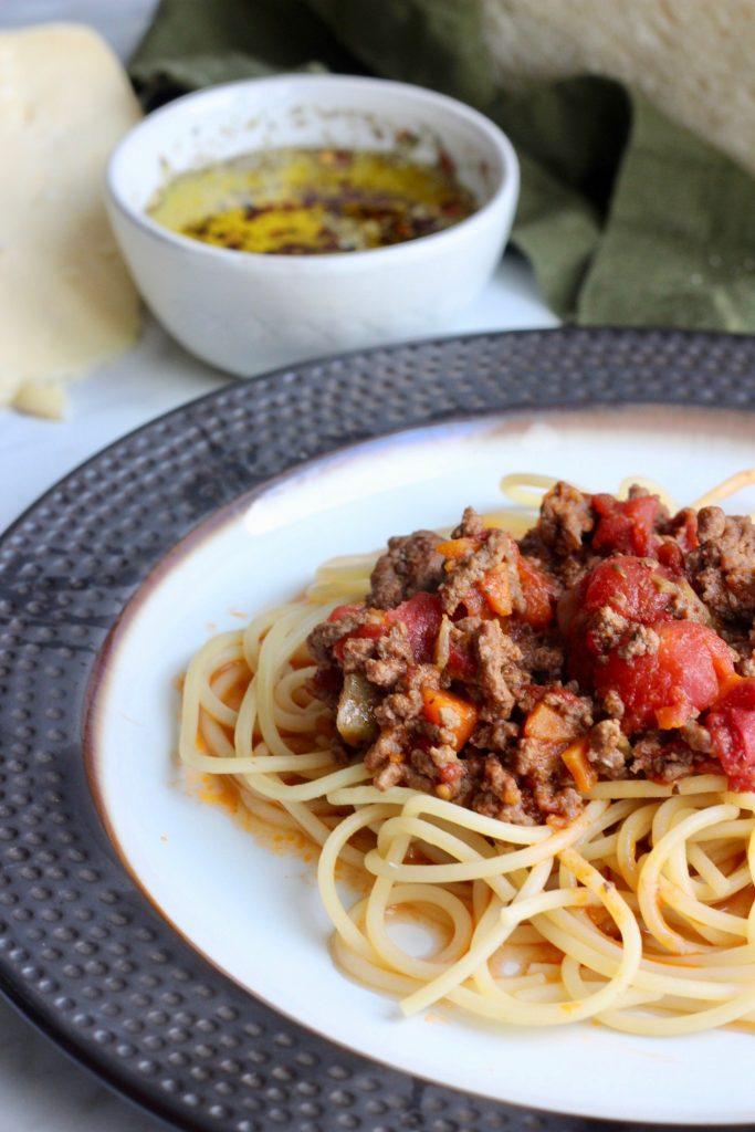 barilla colezzione spaghetti bolognese