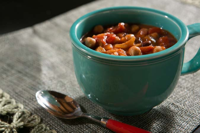 every vegetable chili