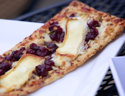 brie cranberry flatbread