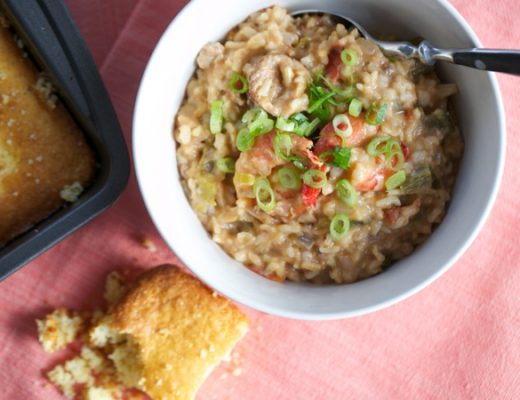 chicken shrimp and sausage gumbo 4
