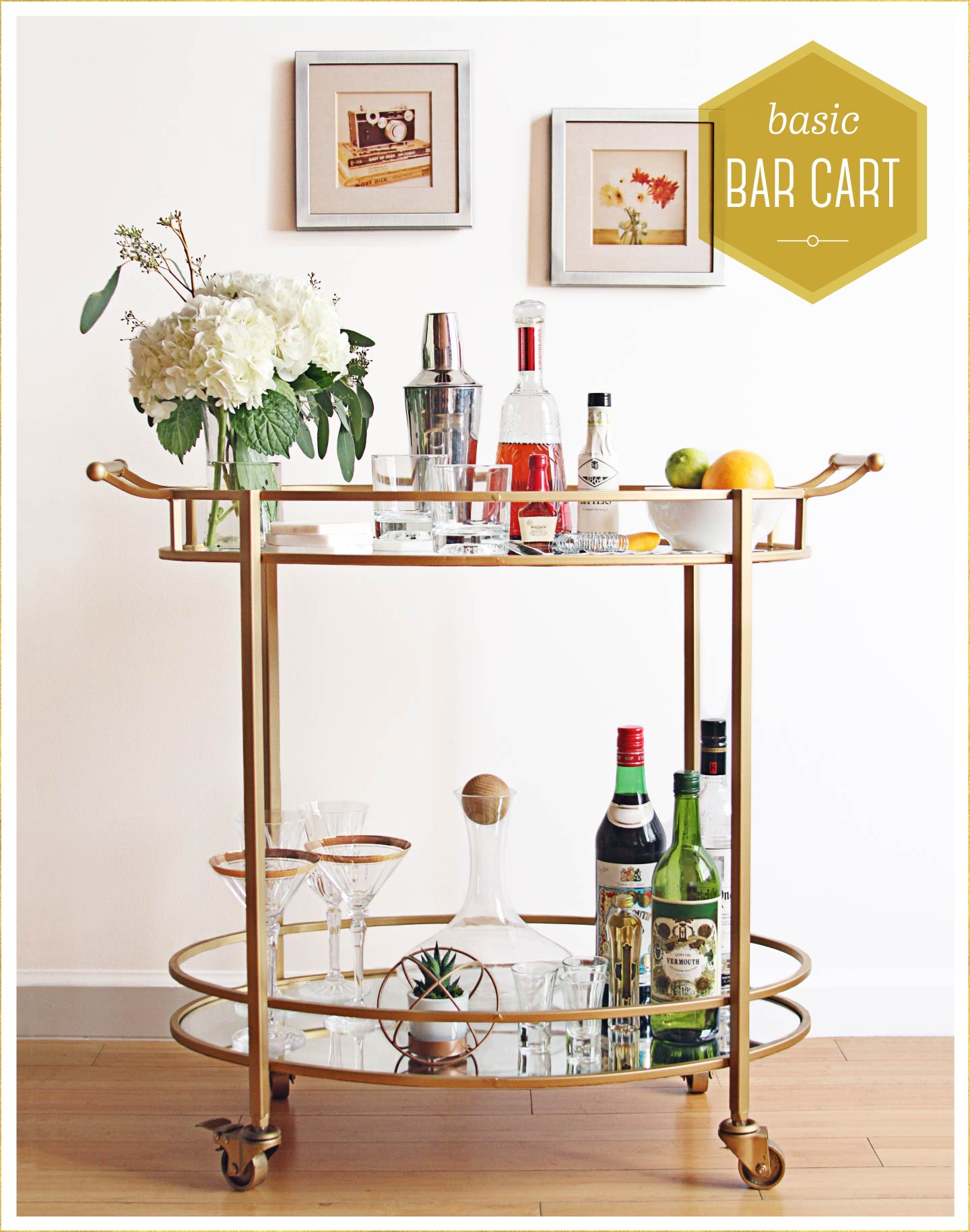 Basic Bar Cart 1